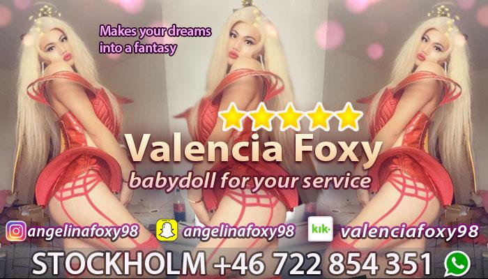 Ts escort angelina foxy