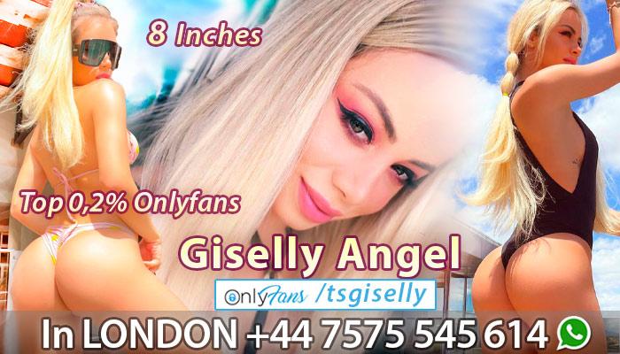 Shemale TS Escort Giselly Angel