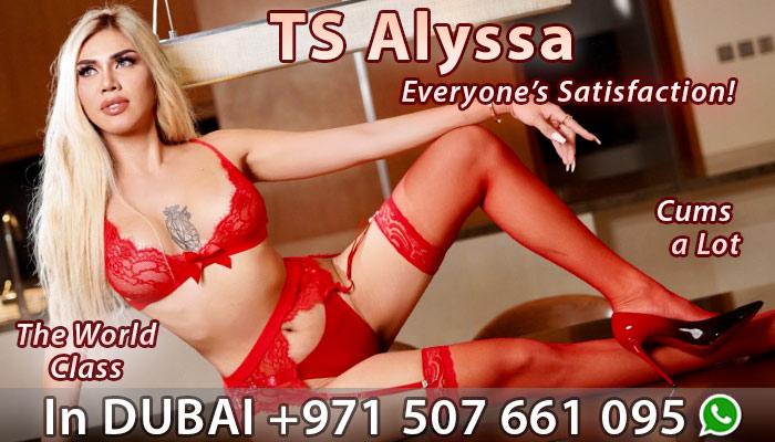 TS Alyssa escort