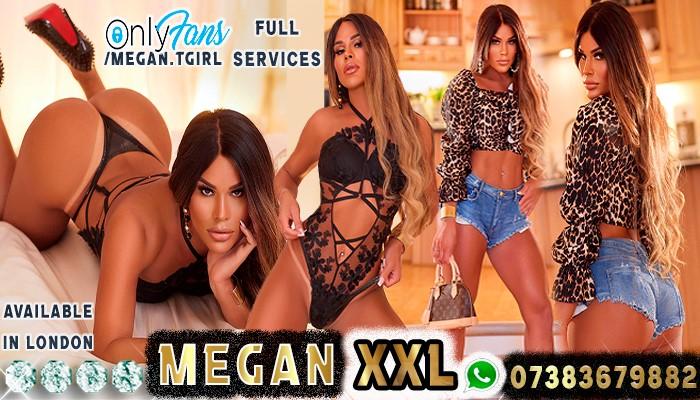 Shemale escort Megann xxl