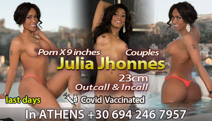 Transsexual Julia Jhonnes