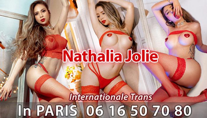 Shemale escort Nathalie Jolie