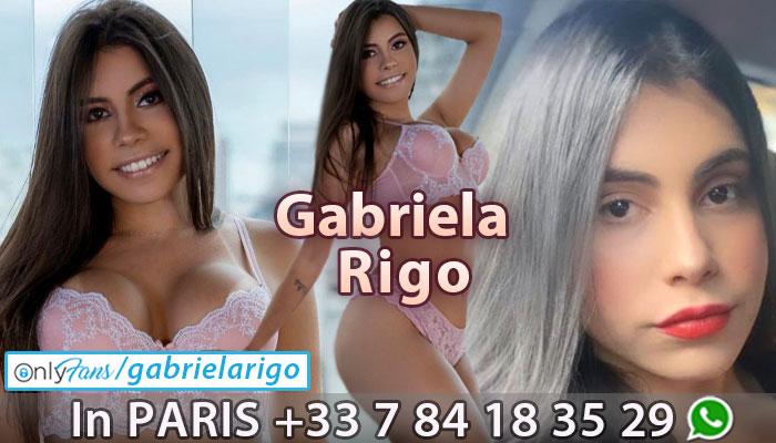 Shemale Gabriela Rigo