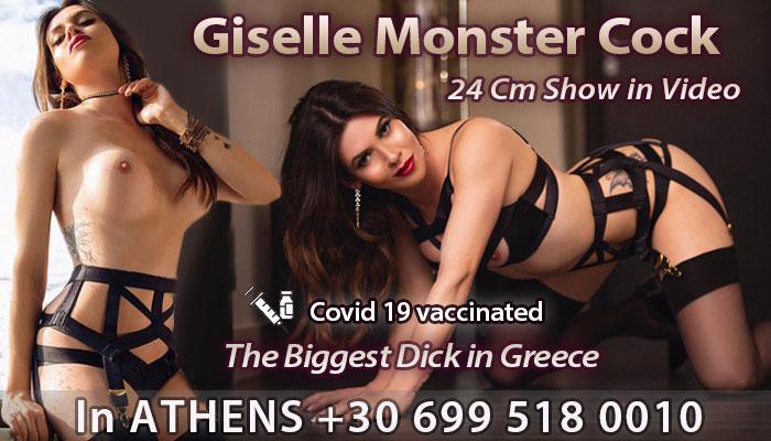 Transsexual escort Gisele
